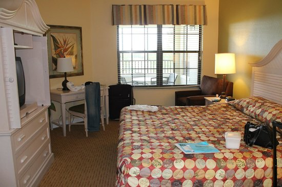 Holiday Inn Club Vacations Orlando - Orange Lake Resort: Master Bedroom