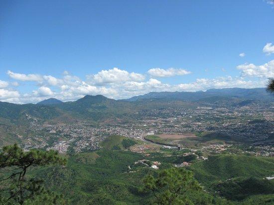 La Cumbre: Blick auf Tegucigalpa