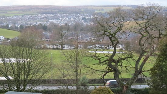 Castle Green Hotel In Kendal: view from hotel room overlooking Kendal