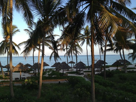 Breezes Beach Club & Spa, Zanzibar: View from rooms 6