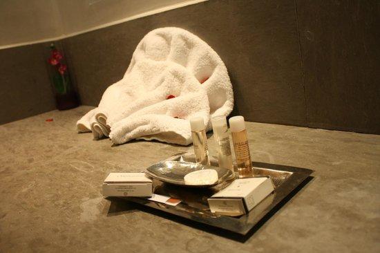 Sirayane Boutique Hotel & Spa: Accessoires de bain