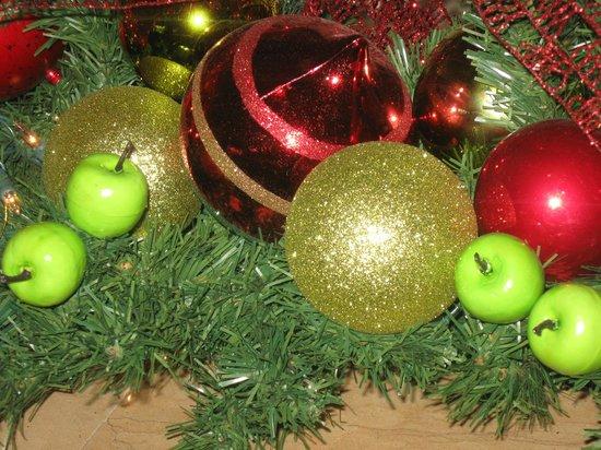 Restaurante Azulejos: immer nett dekoriert, hier Weihnachten