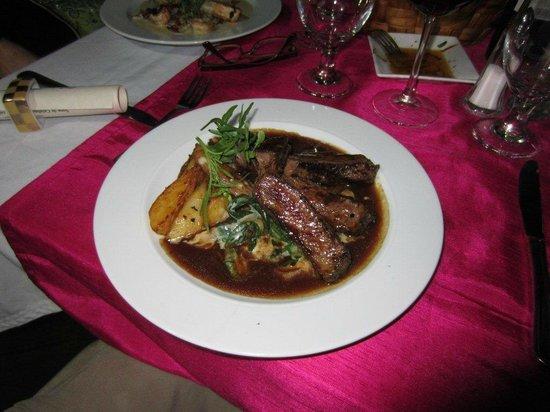 Sandzibar: Beef Entrecote