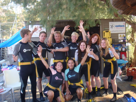 Camp Phoenix Scuba Diving: Having Fun