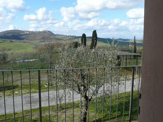 Agriturismo il Palazzo dei Diavoli: the  view on Montefollonico , by IL SORBO