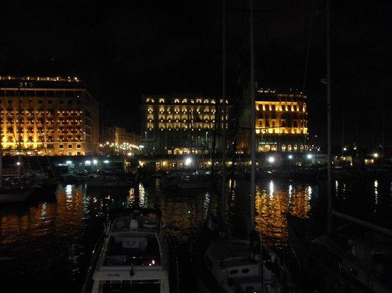 Hotel Transatlantico: Vue depuis la suite d'angle. Les Hôtels de luxe et la promenade