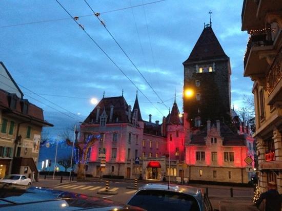 Le Chateau d'Ouchy: château d'ouchy