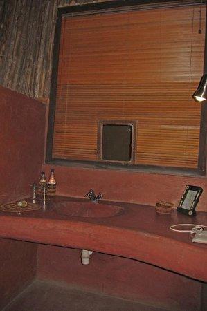 Olduvai Camp: Vanity area