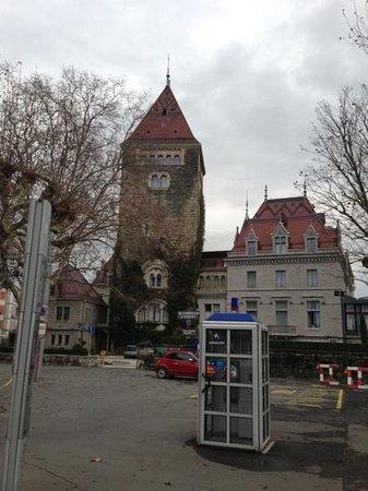 Le Chateau d'Ouchy: château
