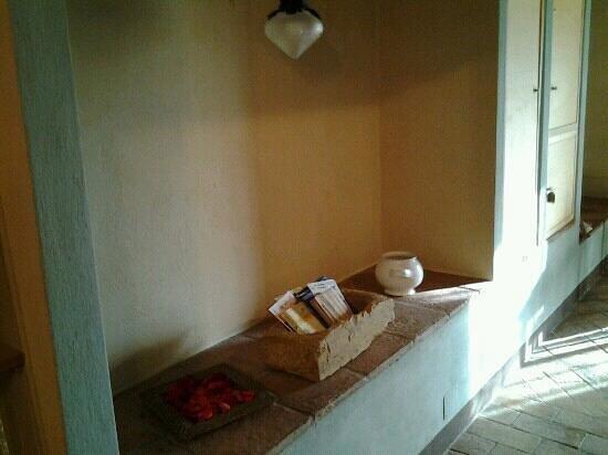 Palazzo a Merse B&B: ingresso tinaio