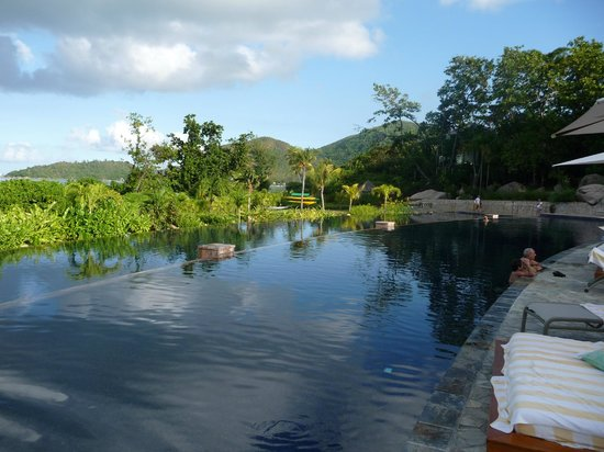 Raffles Seychelles: Piscine