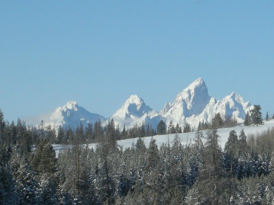 Togwotee Mountain Lodge: Tetons