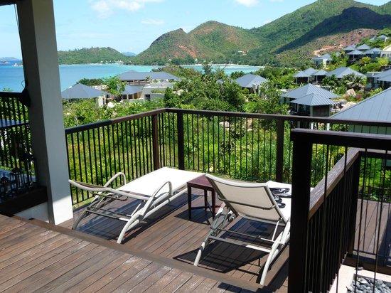 Raffles Seychelles: Vue depuis la chambre