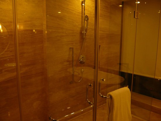 Beijing Marriott Hotel Northeast: Shower cubicle