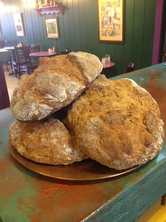 Rosebud's Cafe: Freshly baked Herbed Irish Soda Bread