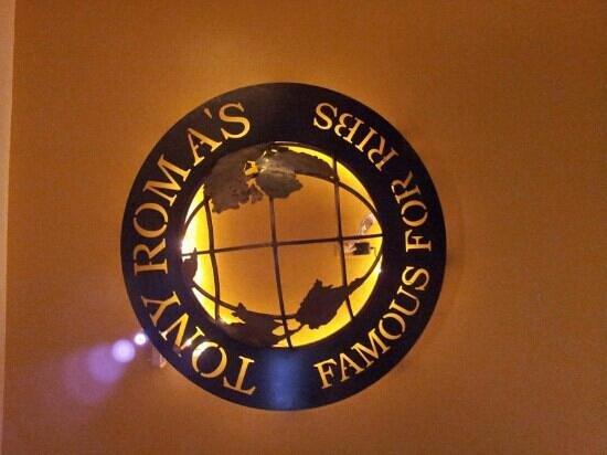 Tony Roma's: ribs
