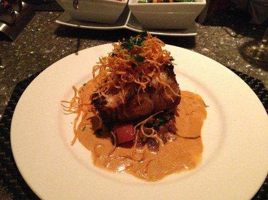 Nick & Nino's Penthouse Steakhouse: Seabass