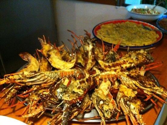Posada Paraiso Azul : Gran buffet di capodanno 2012