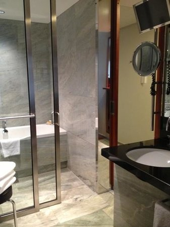 Grand Hyatt Berlin: bagno