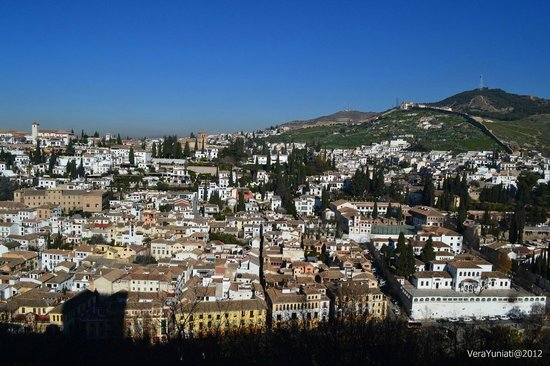 Alhambra, Spanien: the Albaycin - a World Heritage