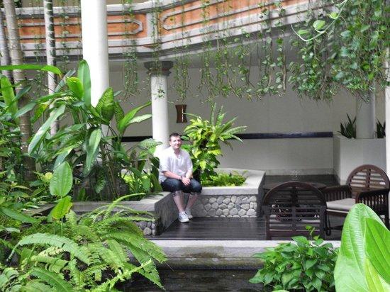 Ayodya Resort Bali: Planted area