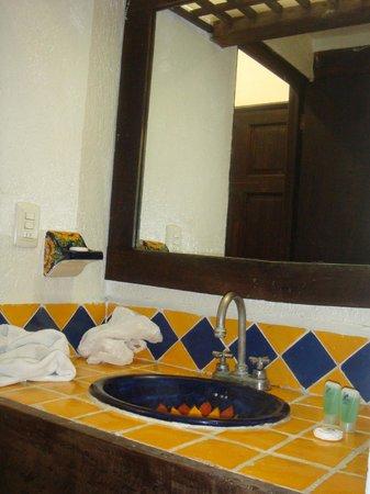 Hotel Hacienda Maria Bonita: Bagno