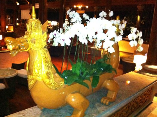 Ayodya Resort Bali: Nicest Flower pot i've seen