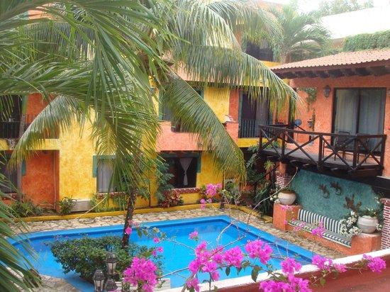 Hotel Hacienda Maria Bonita: Piscina