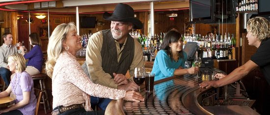 The Wort Hotel: The Silver Dollar Bar - Jackson's gathering place