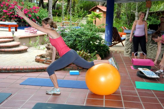 Peaks 'n Swells Surf Camp: Surfer girl recharge sessions include a surf fitness class so that you leave knowing great moves