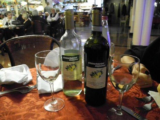 Park Hotel Oasi: Vini deliziosi
