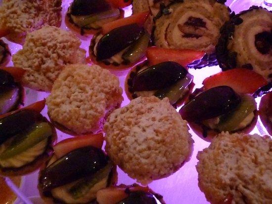 إيليزيوم: Gala Dinner Desserts 