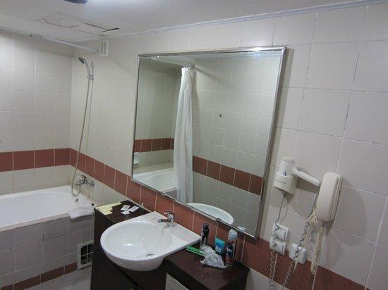 Hotel Uzbekistan: Ванная комната