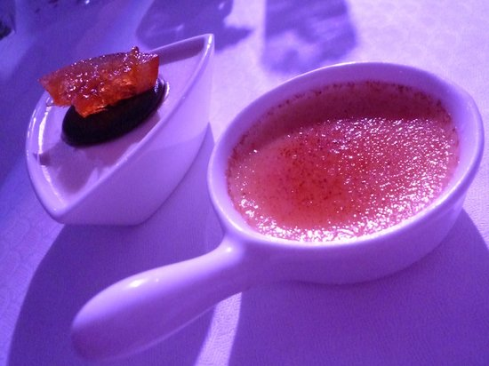 Elysium Hotel: Gala Dinner Desserts