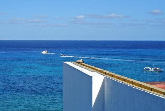 Casa Mexicana Cozumel: ocean view