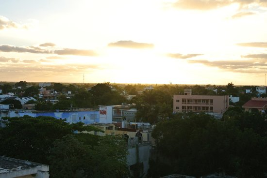 Casa Mexicana Cozumel: sunrise