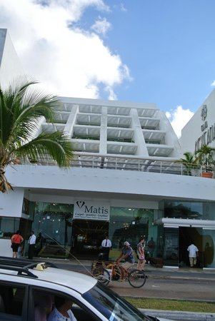 Casa Mexicana Cozumel: front of hotel
