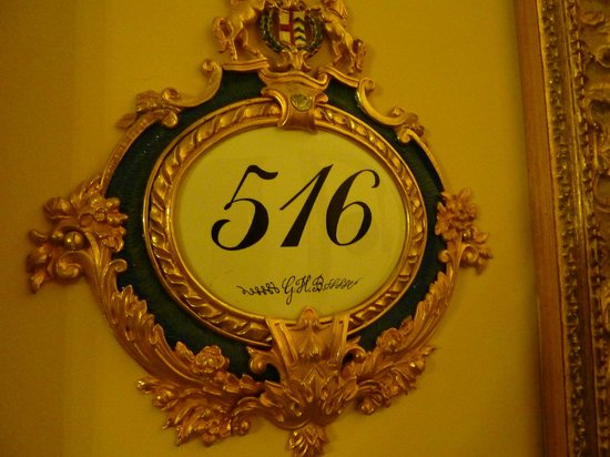 Grand Hotel Des Iles Borromees: Room number