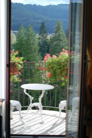 Grand Hotel Des Iles Borromees: Our balcony