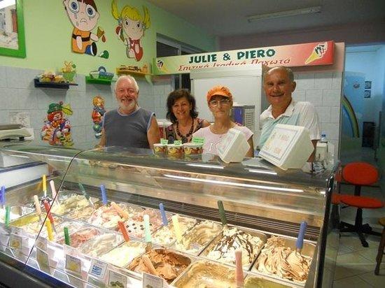 Piero's Gelateria Italiana: Insieme in gelateria