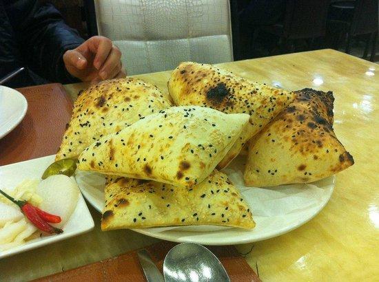 Bosphorus Turkish Restaurant: bread!!