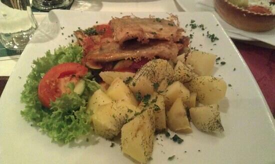 Leimener Brauhaus: fried fish was very good