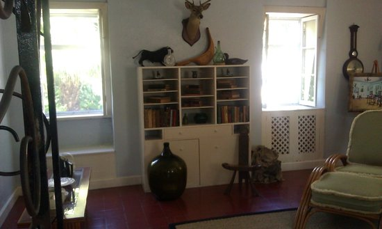 The Ernest Hemingway Home and Museum: Interior view