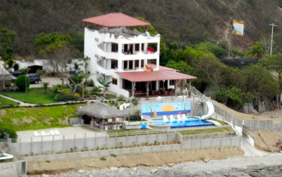 Villa de Los Suenos: Aerial View of Villa
