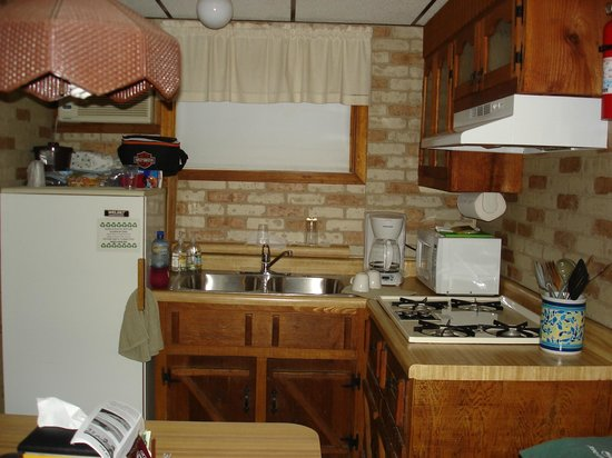 Grandview Motel: Kitchen
