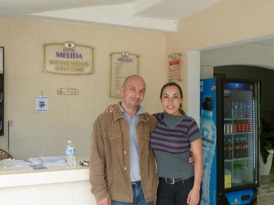 Hotel Melida: The wonderful staff