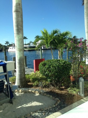 Residence Inn Fort Lauderdale Intracoastal / Il Lugano: View from the da Campo Osteria restaurant