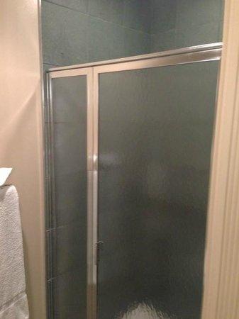 Hotel Metro: Shower