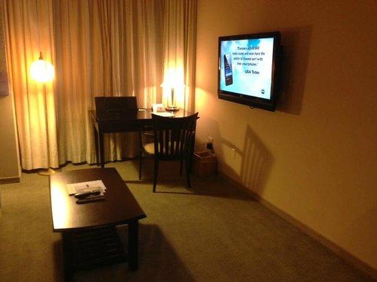 Hotel Metro: TV area
