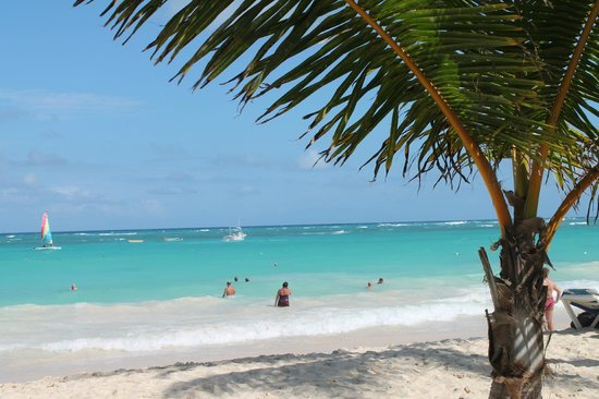 Hotel Riu Palace Punta Cana: Gorgeous ocean and beach